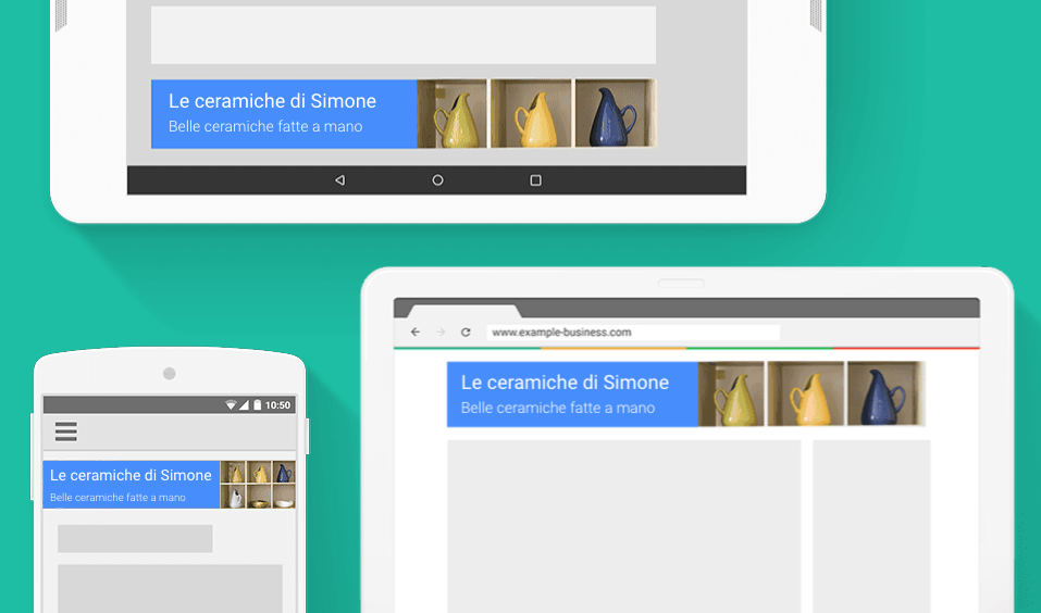 Annunci display di Google Ads